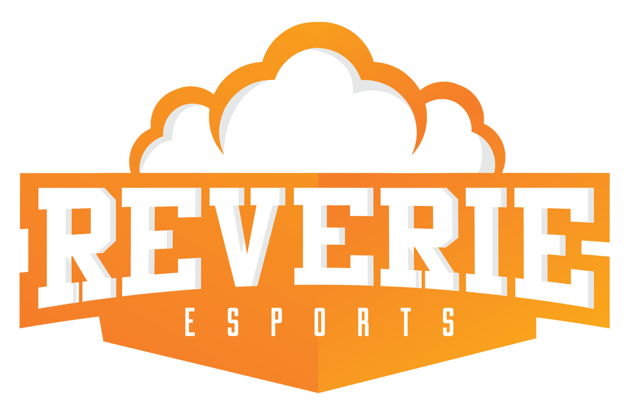 Reverie Esports Logo Rectangle